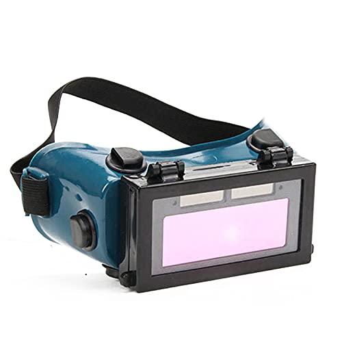 Rehomy Gafas de soldadura de oscurecimiento automático Gafas de soldadura accionadas solares Gafas de soldadura de seguridad para ojos