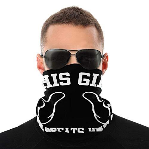 Dieses M?dchen verprügelt Moblins Variety Kopftuch Gesichtsschutz Magic Headwear Neck Gaiter Face Bandana Schal