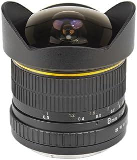 Bower SLY358OD Ultra-Wide 8mm f/3.5 Fisheye Lens for Olympus 4/3 Digital Cameras