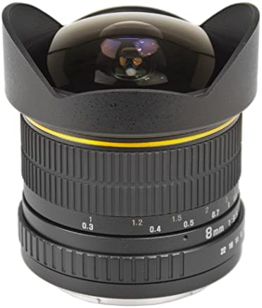 Bower Ultra Wide-Angle 8mm f/3.5 Fisheye Fixed Lens for Nikon - SLY358N