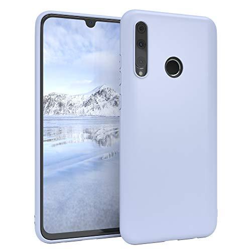 EAZY CASE Handyhülle Silikon mit Kameraschutz kompatibel mit Honor 20 Lite/Huawei P Smart Plus (2019) in Himmelblau Blau, Ultra dünn, Slimcover, Silikonhülle, Hülle, Softcase, Backcover