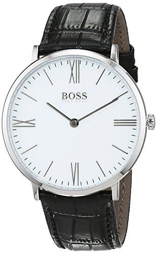 Hugo Boss Herren-Armbanduhr 1513370, Schwarz/Weiß