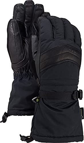 BURTON Womens Gore Warmest Glove, True Black, Small