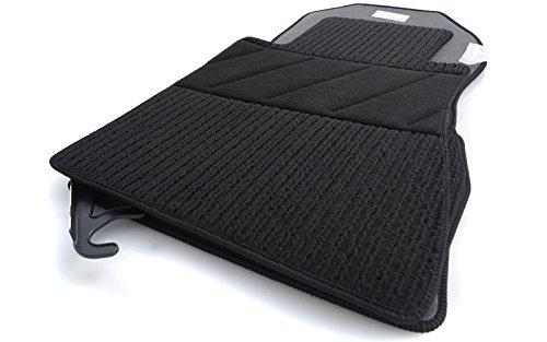 kh Teile Fußmatten / Rips Automatten Original Qualität, Ripsmatten 4-teilig, schwarz