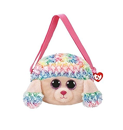 Ty 95105 Gear Rainbow Poodle Shoulder Bag, Multicolored, One Size