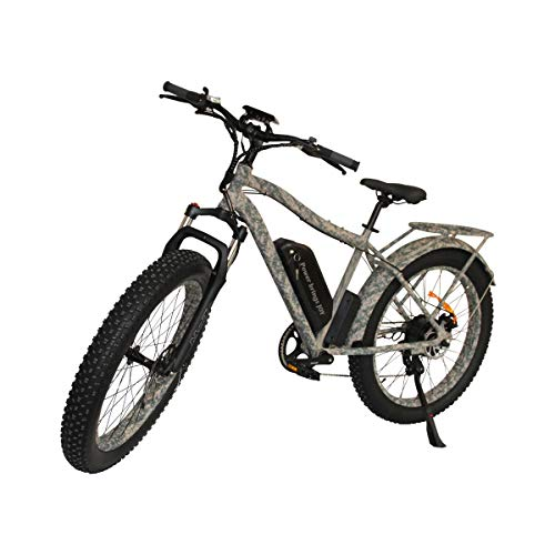 CZFJ Mountain Fat Tires Electric Bicycle with 750W...