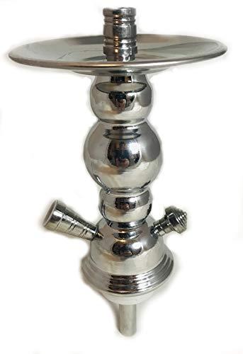 mysale24.de Shisha Wasserpfeifen Ersatz rauchsäule für kleine Steck Shishas 1 Schlauch mit Tauchrohr und Teller