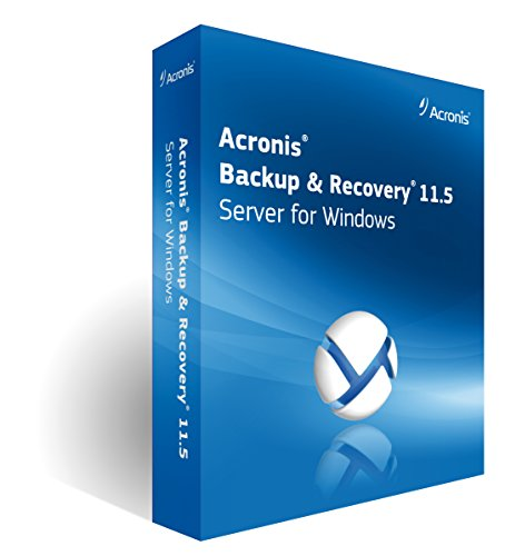 ACRONIS Backup for Windows Server Essentials V11.5