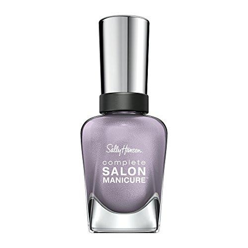 Sally Hansen Complete Salon Manicure Nagellack, A perfect Tin, limitierte Edition mit Keratinkomplex und glänzendem, Farbe 473, Flieder, 1er Pack (1 x 14,7 ml)