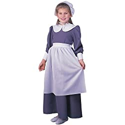 Pilgrim Girl Child Costume (Medium)