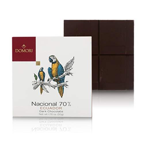 12 Tavolette Di Cioccolato Fondente 'Le Origini', Ecuador, Arriba Nacional 70%, 50 Grammi l'Una (Tot. 600g)
