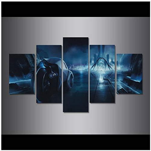 A&D Tron Legacy Poster Und Drucke Wandkunst Leinwand Malerei Wandbilder Für Wohnzimmer Dekoration Geschenk-30x40 30x60 30x80 cm Kein Rahmen