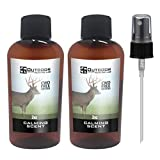 Outdoor Hunting Lab Calming Scent Ever Calm Deer Attractant Buck Lure Whitetail Hunting Cover Urine Pee Spray(2 Bottle)