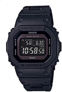 ساعة كوارتز بشاشة رقمية وسوار من الراتنج للرجال من كاسيو، موديل GW-B5600BC-1BDR