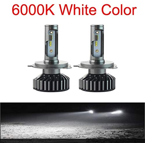 BAN SHUI JU MINSU GUANLI 2pcs Mini Canbus Dual Color Lampada H4 H7 LED Faros Antiniebla For Automóvil 12V 12000LM 6000K 8000K Lámpara H3 H HB4 H8 H9 H11 Luz Fácil Instalación