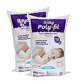 Fairfield PFRS12 Silky Poly-Fil Fiber Fill, 12oz Bag, 12 oz, White