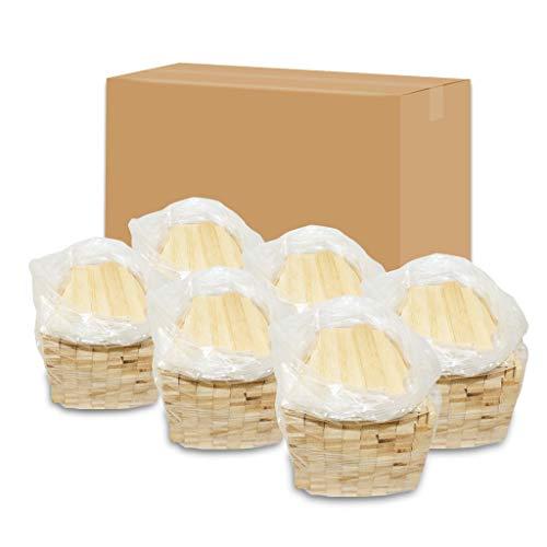 24kg Anzündholz Anfeuerholz Anmachholz Kamin Ofen Hartholz Eiche getrocknet in 6 handlichen Säckchen zu je 4kg - versandkostenfrei - saubere Sache