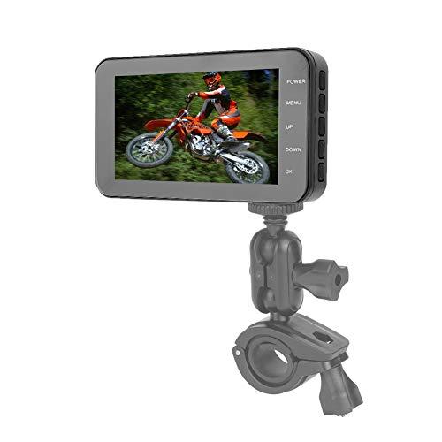 Cámara DVR para motocicleta, grabación en bucle WiFi, motocicleta negra DVR, para motocicleta