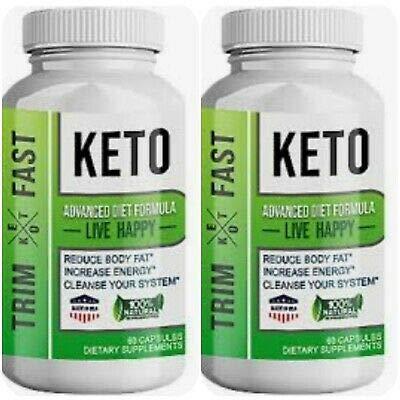 Trim Fast Keto Advanced Diet Formula 60 Capsules