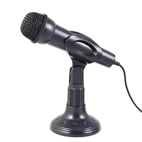 WSGLZ Kondensator-Mikrofon Plug & Play, Stativ Home Studio Recording-Mikrofon Für Computer, Smartphone, Registriergeräte