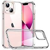 ESR iPhone 13 mini ケース 2021 ハイブリッドケース 透明 黄変しにくい 薄型 傷に強い背面 握りやすい保護フレーム 5.4インチ クリア