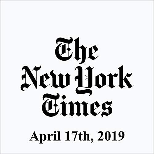 April 17, 2019 copertina