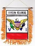 US Virgin Islands - Window Hanging Flags