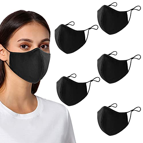 (50% OFF) Washable Reusable Face Mask 5 Pack $7.99 – Coupon Code