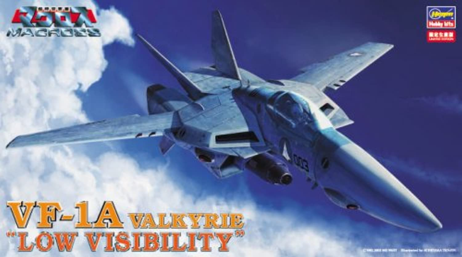 VF-1A Valkyrie Low Visibility (Plastic model) Hasegawa Macross Macross 1 72