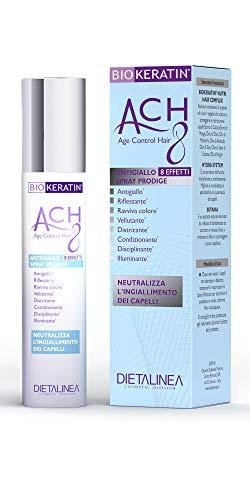 Dietalinea Spray Capelli Antigiallo Biokeratin ACH8