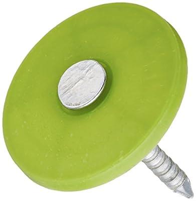 National Nail 135055 250CT 1-Inch Plastic Cap Nail by NATIONAL NAIL CORP