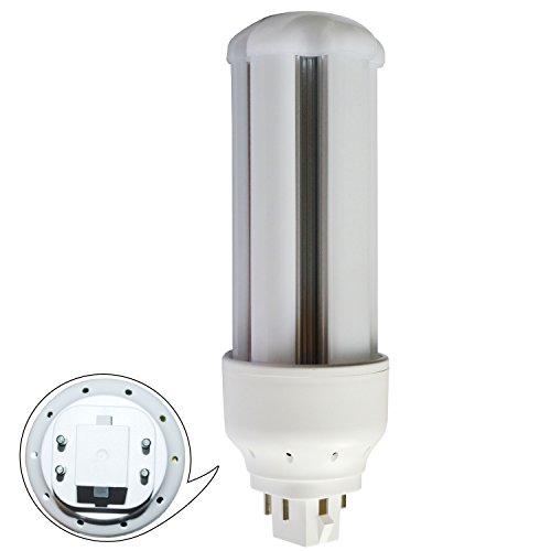 FHT24EX形 LEDコンパクト蛍光灯 調光機能対応 FHT24EX-N 10W消費電力 1300lm GX24q(2/3/4/5完全対応)グロー式工事不要(全工事不要ではない)ちらつきなし 騒音なし 紫外線なし 2年保障 (昼白色5000k)