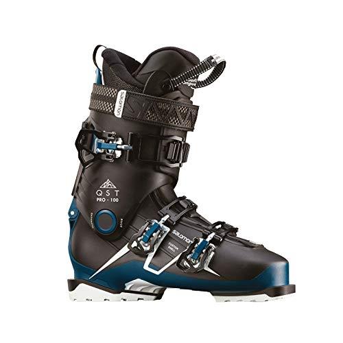 サロモン(SALOMON) スキーブーツ メンズ QST PRO 100 Black/Petrol 26/26.5cm 2018-19年モデル L40553900