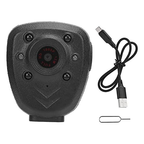 Cámara de cuerpo HD 1080P, cámara de seguridad portátil,...