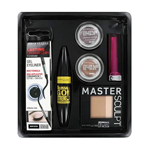 IT Look by Maybelline Rock Chic Lipstick, Contour, Mascara, Gel, ++