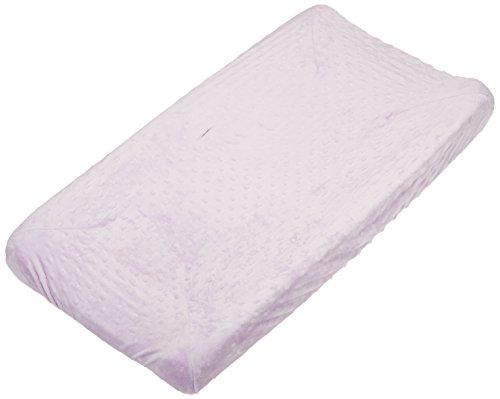 Rumble Tuff Minky Dot Housse de matelas à langer, lavande, compact, compact, lavande