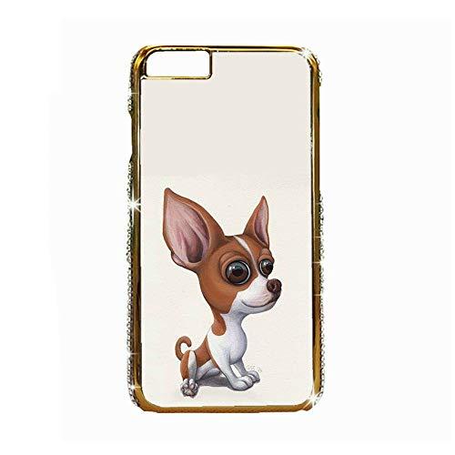 Print Chihuahua 6 Womon Compatible Apple iPhone 6 Plus 6S Plus Hard Rigid Plastic Cases Popular Choose Design 131-1