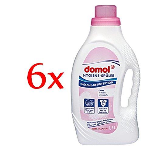 domol Hygiene-Spüler, 6er Pack (6 x 1,5 l)