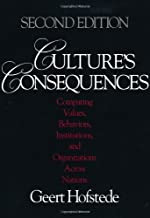 geert hofstede culture's consequences