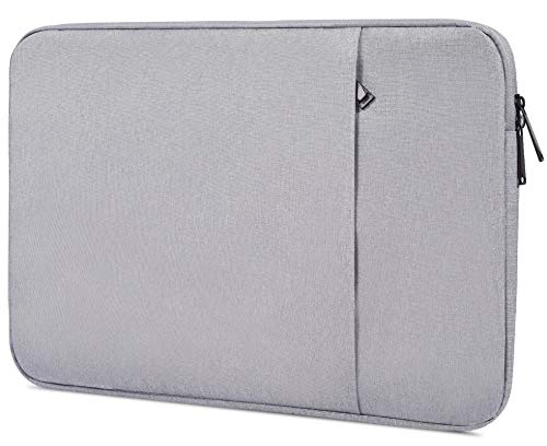 14-15 Inch Waterpoof Laptop Case for ASUS VivoBook Flip 14, Acer Chromebook 14, HP Pavilion 14, Lenovo Flex 14, Asus Samsung Toshiba Lenovo HP Chromebook Protective Notebook Tablet Bag, Grey