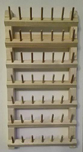 Garnrollenhalter aus Holz für die Wand!