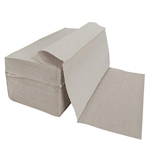5000 Stück Papierhandtücher Natur 25x23 cm ZZ-Falz recycling