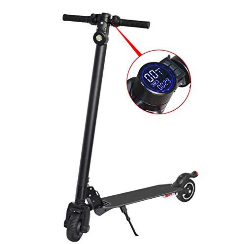 Scooter Elettrico, Scooter Elettrico per Adulti Dual 400W Motors velocità Massima 30 km/H Pieghevole Scooter Elettrico con Display a Cristalli liquidi 10.4AH Li-Ion Battery Ultralight Pieghevole