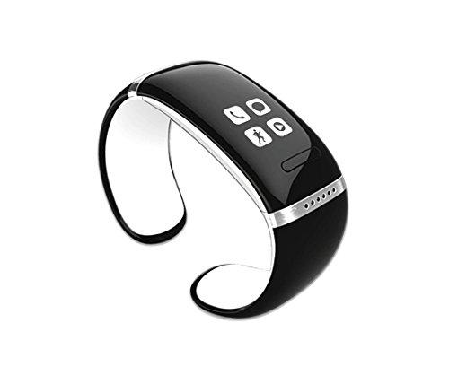 CursOnline® - Reloj de pulsera con Bluetooth, altavoz, MP3, modelo ligero, sincronización...