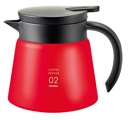 Hario VHS-60R Kaffeemaschine Edelstahl isoliert, 60 Watt