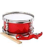 Instrumentos musicales Militar Tambor grande y pequeño Militar Tambor Instrumento Musical de los Niños Pequeño Tambor de Rendimiento de los Niños Tambor de Juguete