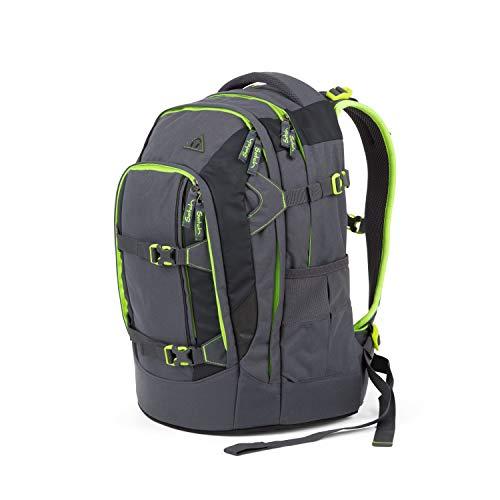 Satch pack Schulrucksack - ergonomisch, 30 Liter, Organisationstalent - Phantom - Grau