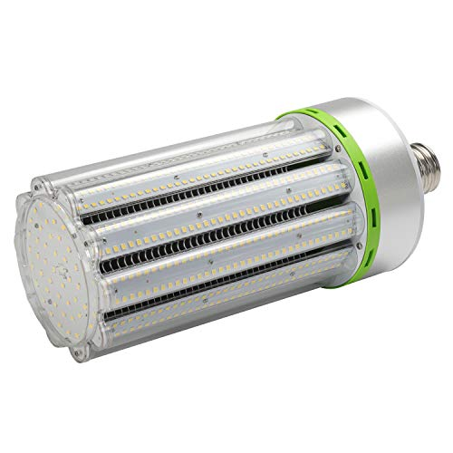 120W LED Corn Light Bulb E39 Large Mogul Base Commercial Grade 5000K Daylight 15600LM Led Replacement 400-500W Metal Halide HID HPS for Garage Warehouse Outdoor Street Area Lighting