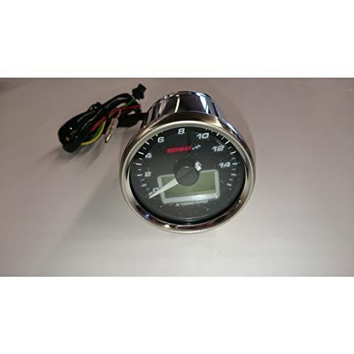 KOSO D55 GP Style Drehzahlmesser/Thermometer (max. 16000 U/min/max. 150 C°)