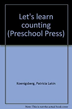 Hardcover Let's learn counting (Preschool Press) Book